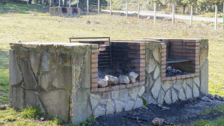 barbacoas de obra sin chimenea